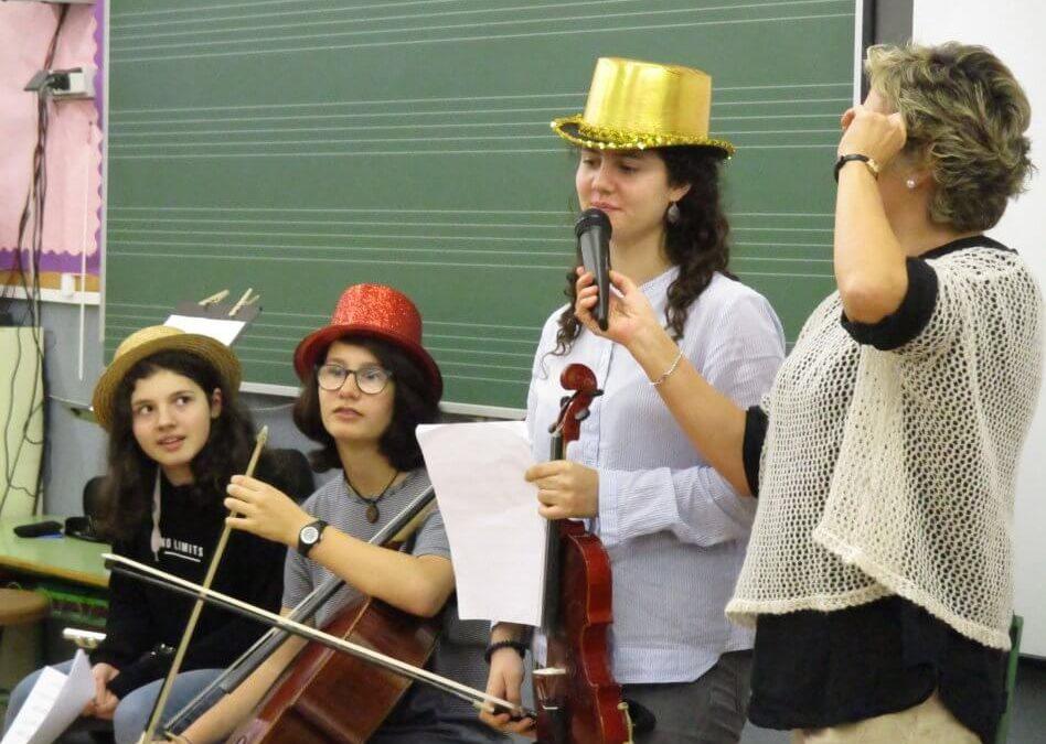 Concert en directe a l'escola (Cicle Mitjà i Cicle Superior)