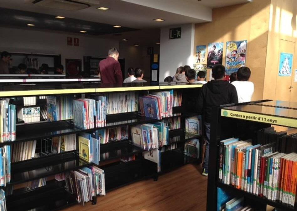 "Visita a la Biblioteca ""Marina Clotet"""