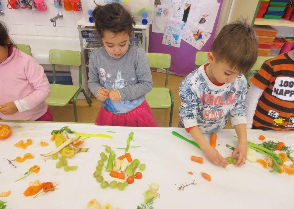 Composicions amb fruita creativa (Educació Infantil)