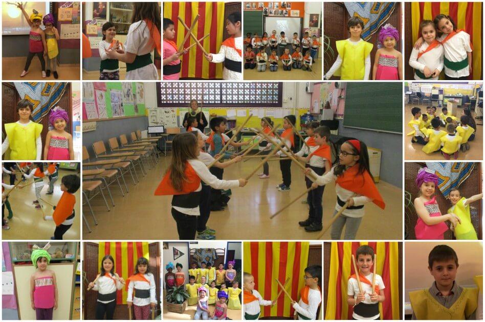 Escola_L'Estel_Collage_danses_i_vestits_del_mon