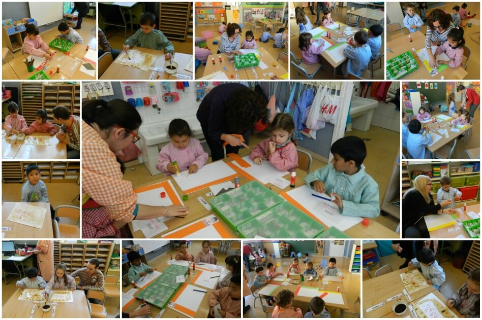 Escola_L'Estel_Collage_taller_escriptura