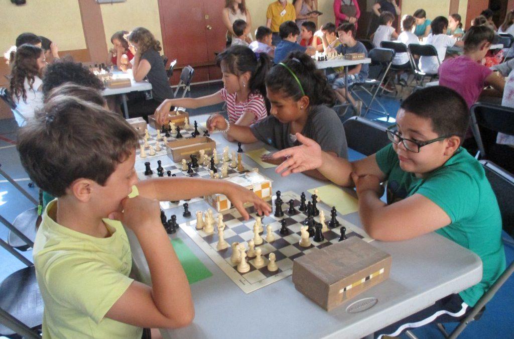 Trobada final d'escacs 4t de Primària
