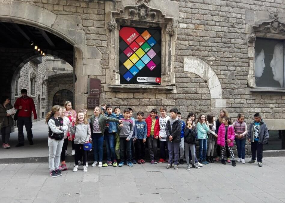 """Sortida del Projecte """"Barcino i els romans"""" (classe de 5è)"""