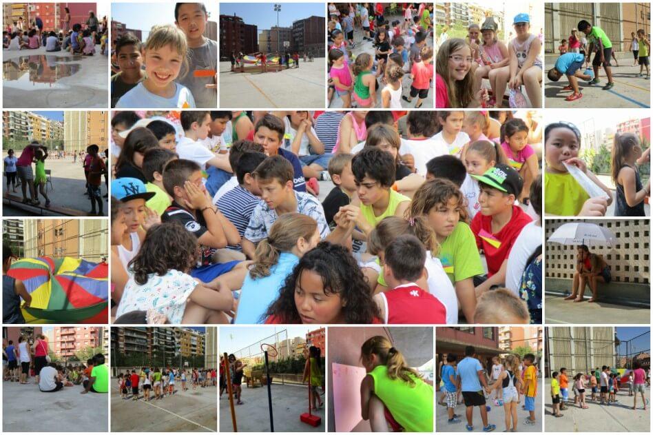 Escola_L'Estel_Collage_gimcana