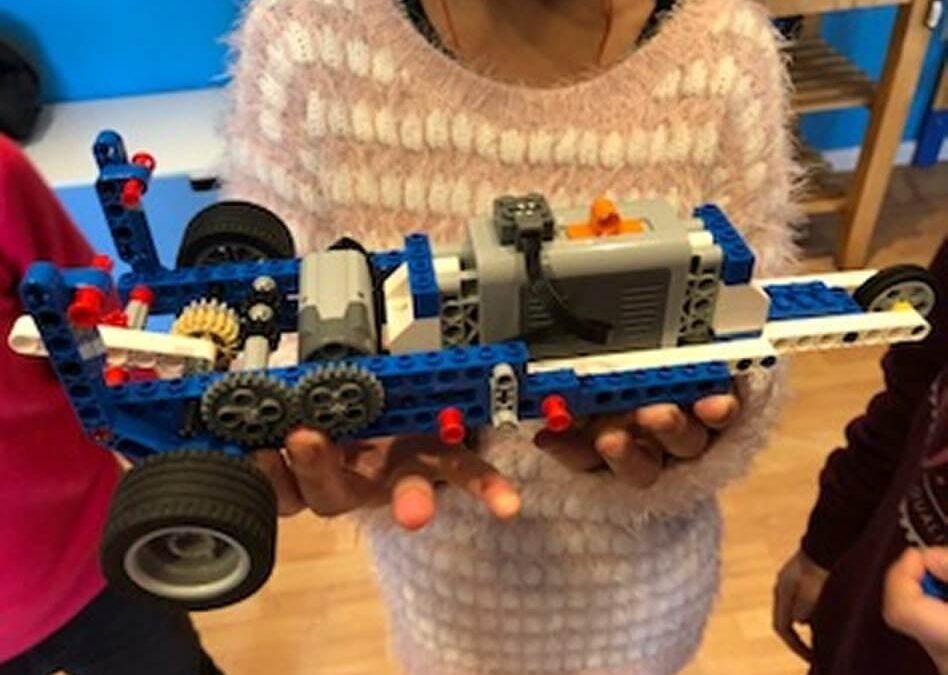 Construïm un vehicle! Cicle Superior