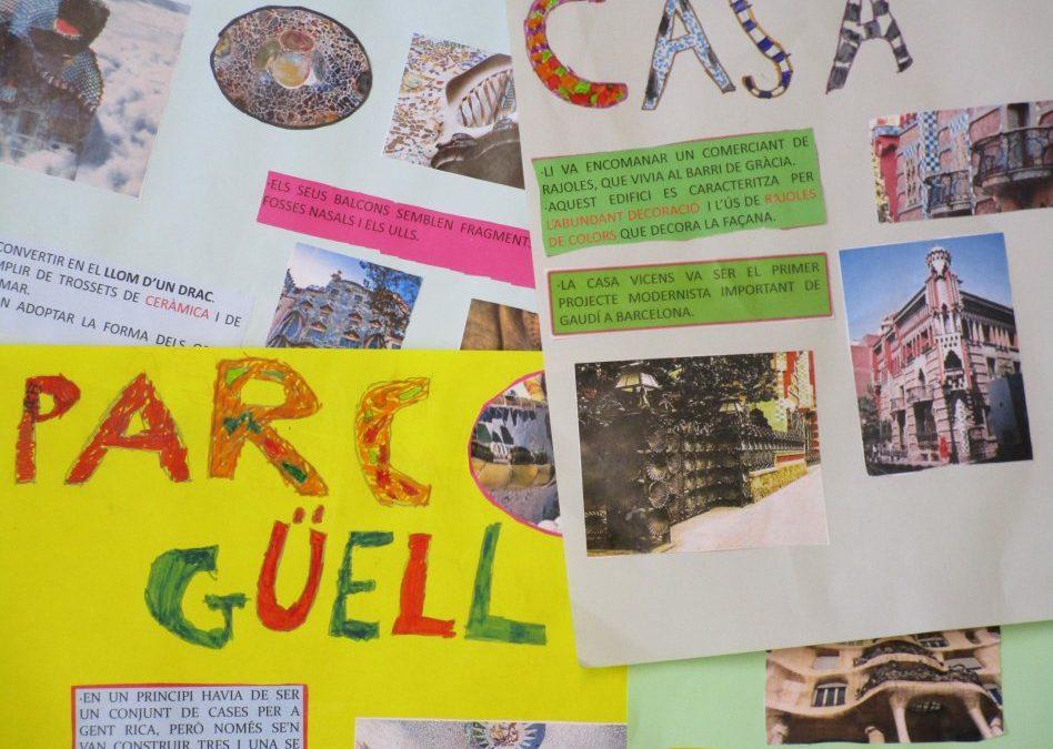 "Exposicions Projecte ""Antoni Gaudí"".. 1r"