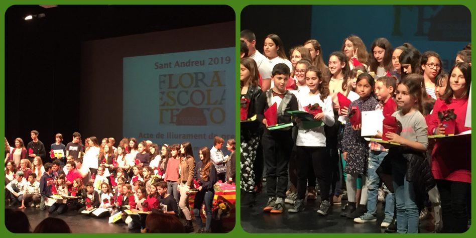 1r Premi de poesia als Jocs Florals del districte de Sant  Andreu 2019
