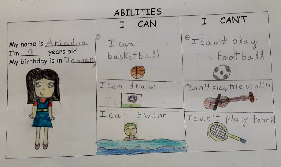 Abilities in English (Alumnes de 3r)