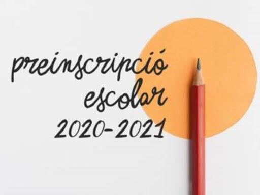 Publicació de la llista provisional de sol.licituds Curs 2020-2021